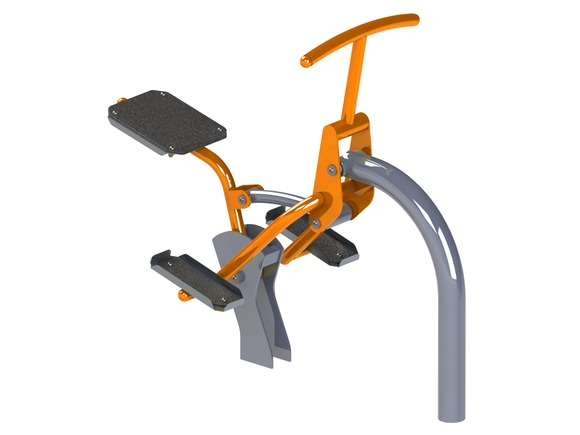 Fitness-Element FP-008SO Fahrer - orange