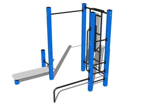Street-Workout-Kombination WS021BD - blau