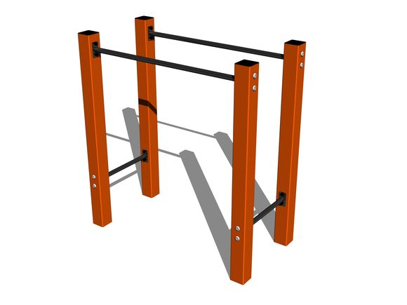 Street-Workout-Element WP002OD - orange