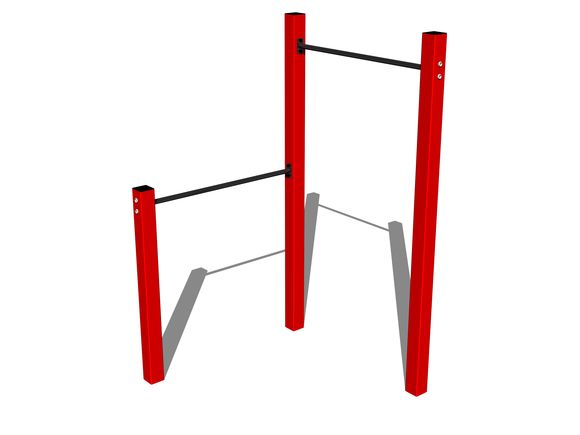 Street-Workout-Kombination WS001RD - rot