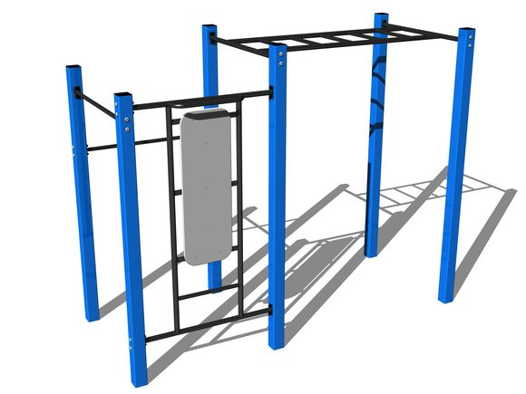 Street-Workout-Kombination WS010BD - blau