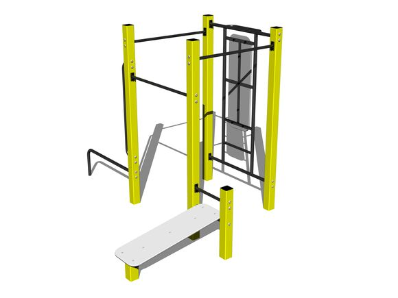 Street-Workout-Kombination WS014YD - gelb