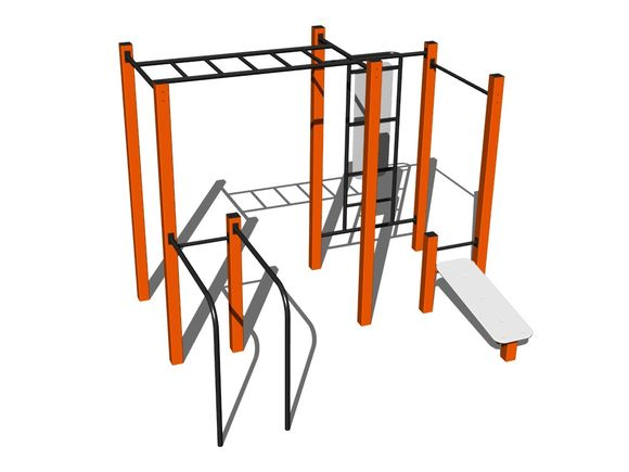 Street-Workout-Kombination WS016OD - orange
