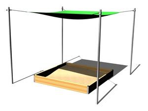 sandkastentisch st001k spielplatze. Black Bedroom Furniture Sets. Home Design Ideas
