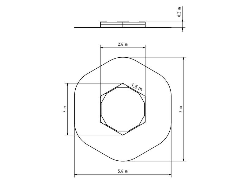 plane f r 6 kant sandkasten pz600 spielplatze. Black Bedroom Furniture Sets. Home Design Ideas